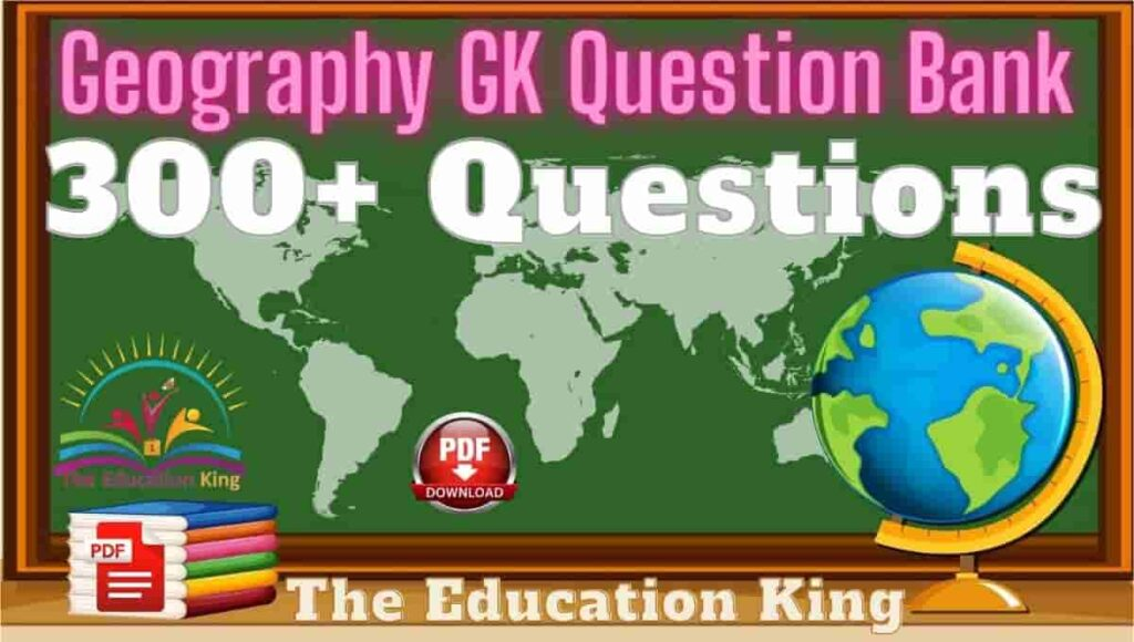 Geography Questions In Hindi
