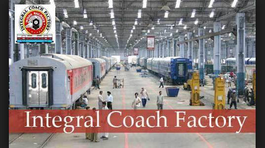 Integral Coach Factory Apprentice Bharti 2021