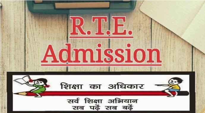RTE Rajasthan School Admission form 2021